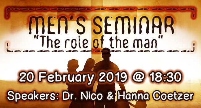 Men's Seminar 2019